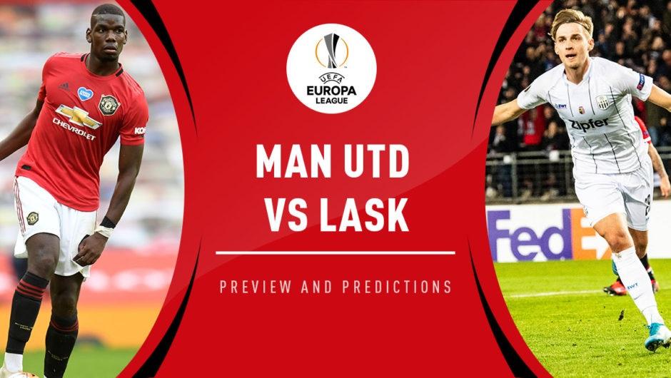 Manchester United VS LASK Linz